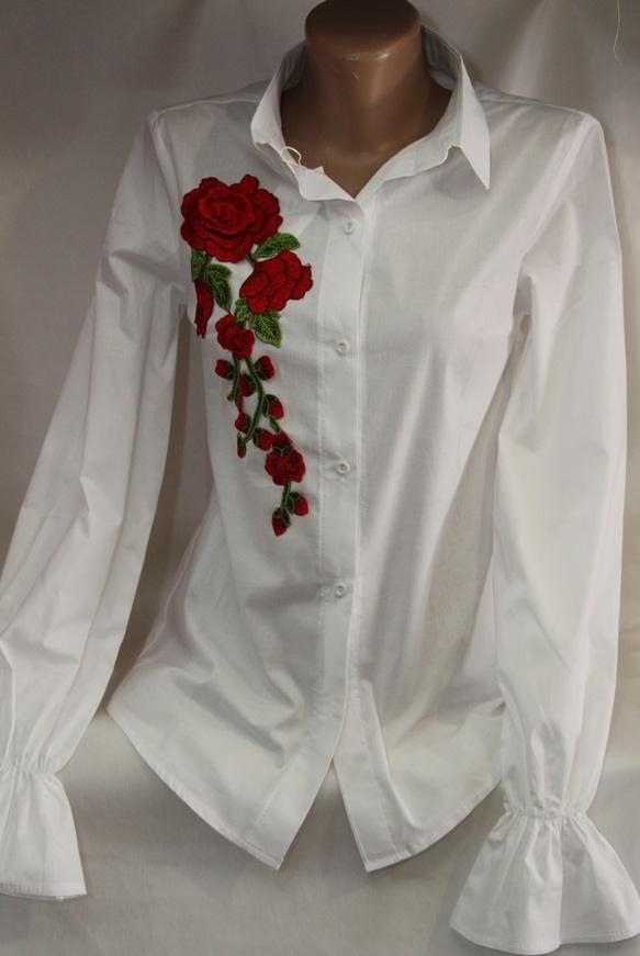 Рубашки женские оптом 05083030 00-76