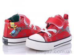Кеды, Class Shoes оптом B16 красный