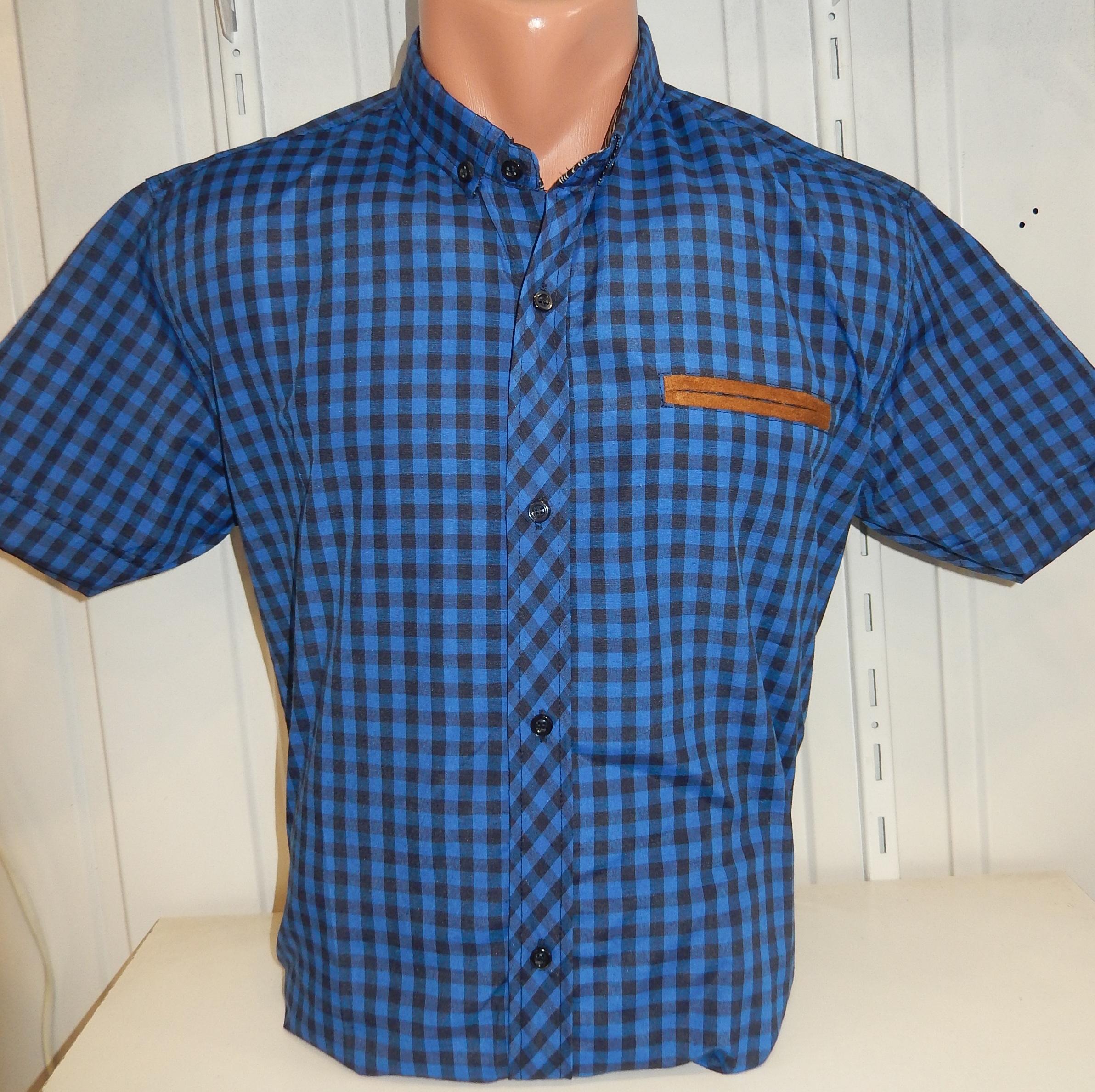 Рубашки мужские оптом  02051830 11-11