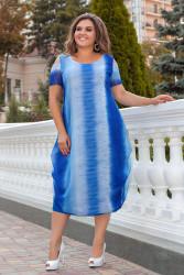 Платья  женские БАТАЛ оптом 97385026 14  -32