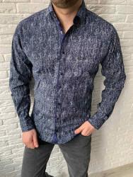 Рубашки мужские БАТАЛ оптом 57964038 01-11