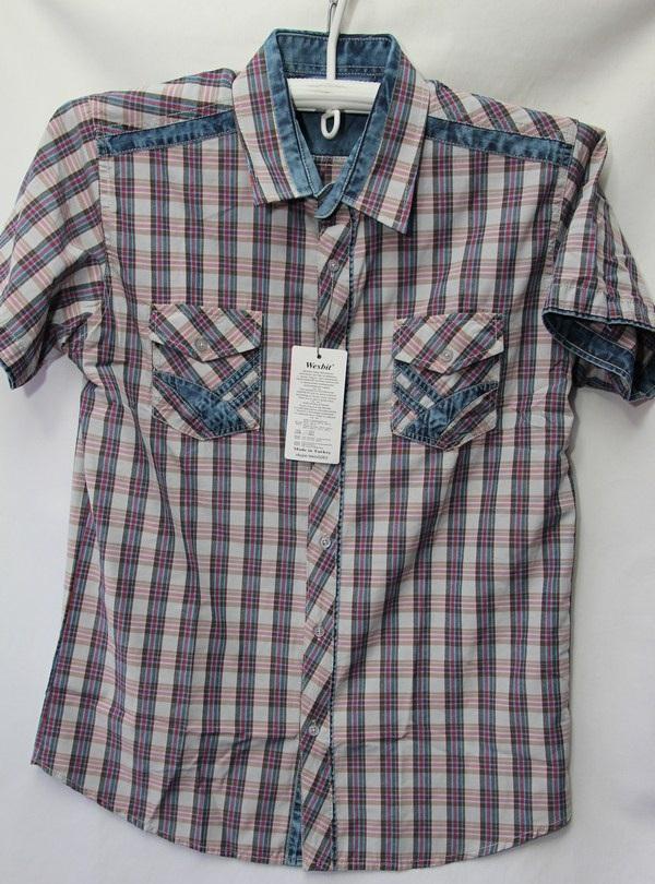 Рубашки мужские Турция оптом 2004523 3636-60
