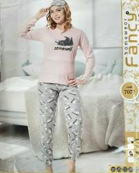 Ночные пижамы женские FANCY оптом 31047659 7071-37