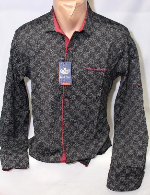 Рубашки PAUL STAR мужскиеТурция оптом 94360178