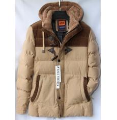 Куртка мужская зимняя оптом Китай 2909223 E62-2