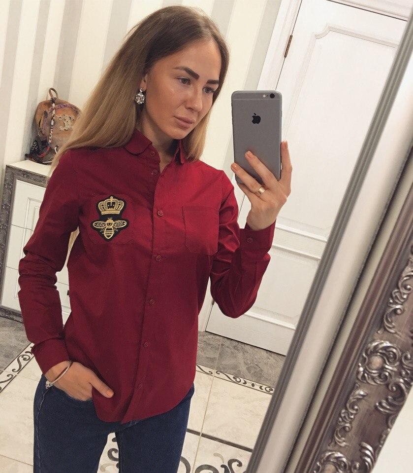 Рубашки женские оптом 29083183 098-9