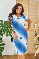 Платья женские БАТАЛ оптом 86741509 23-10