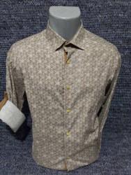 Рубашки мужские PLENTI БАТАЛ оптом 96217843    03-25
