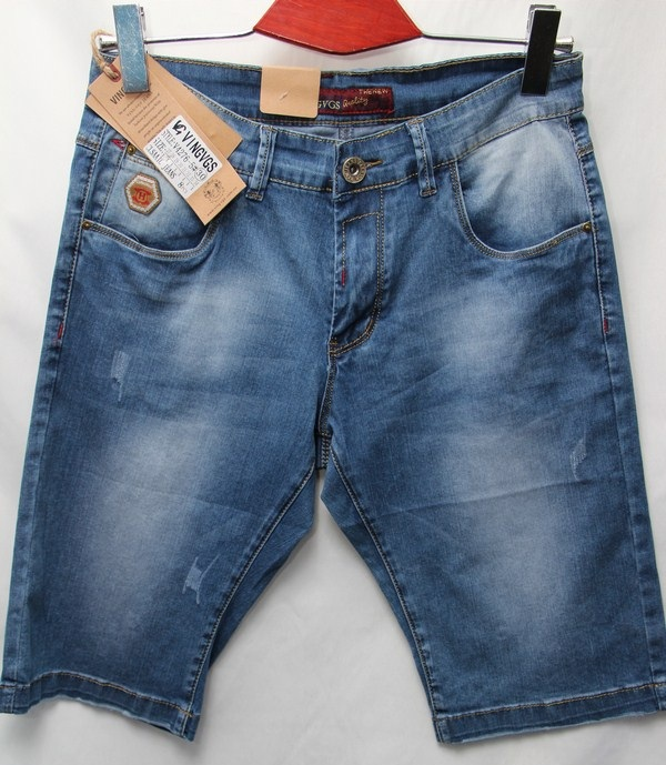 Шорты джинсовые мужские оптом 79014368 4276-5
