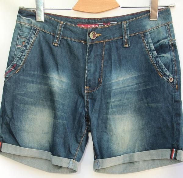 Шорты джинсовые мужские оптом 47219563 25031