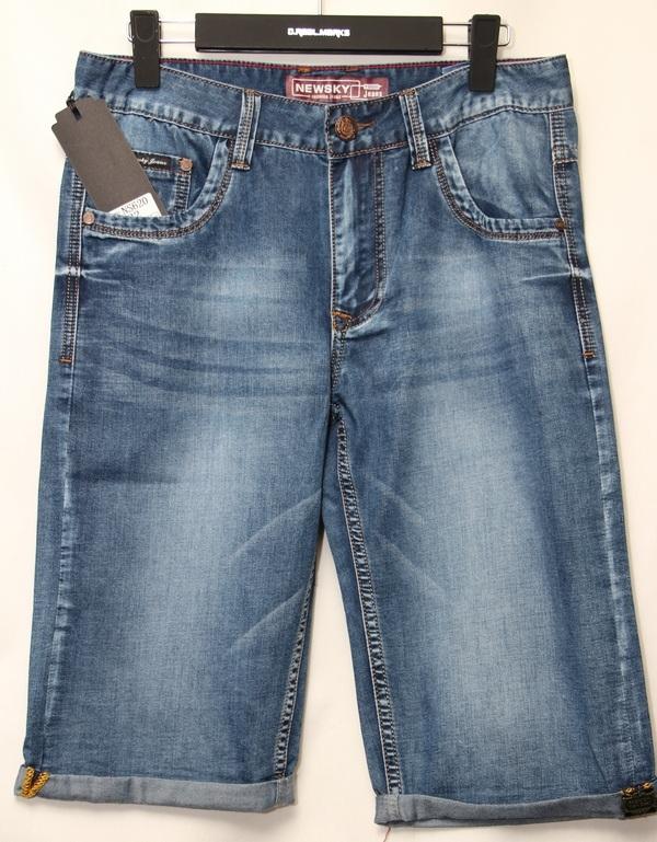 Шорты джинсовые мужские оптом 04071824 620