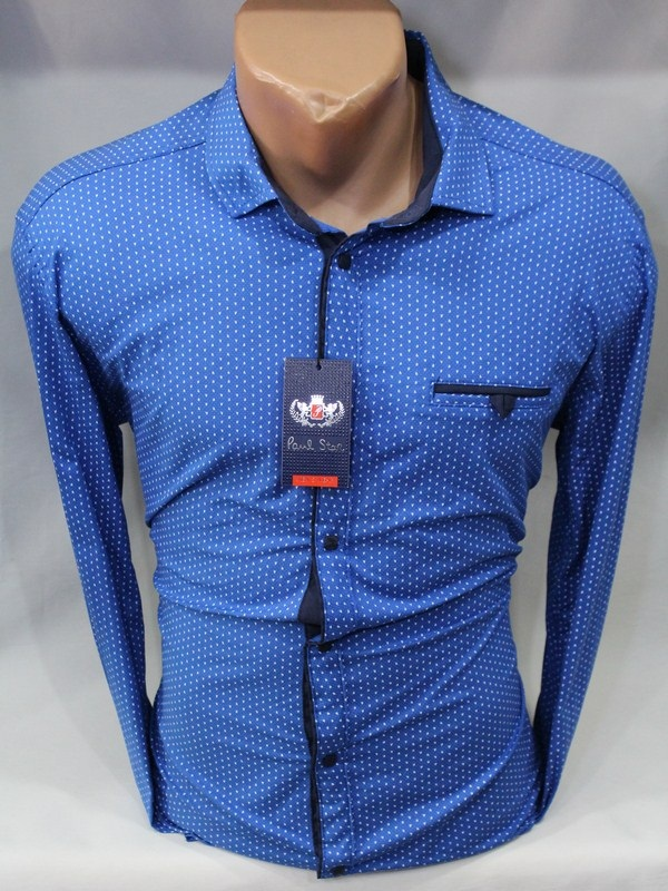 Рубашки PAUL STAR мужскиеТурция оптом 98142607