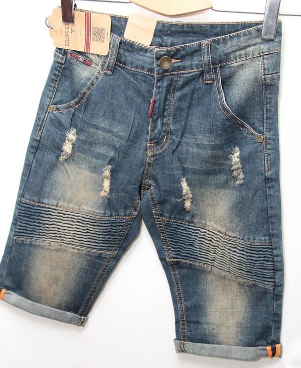 Шорты джинсовые мужские CELUKKIG LEVEN оптом 08061340 892
