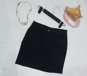 Юбки джинсовые женские БАТАЛ оптом 59347128 04-7