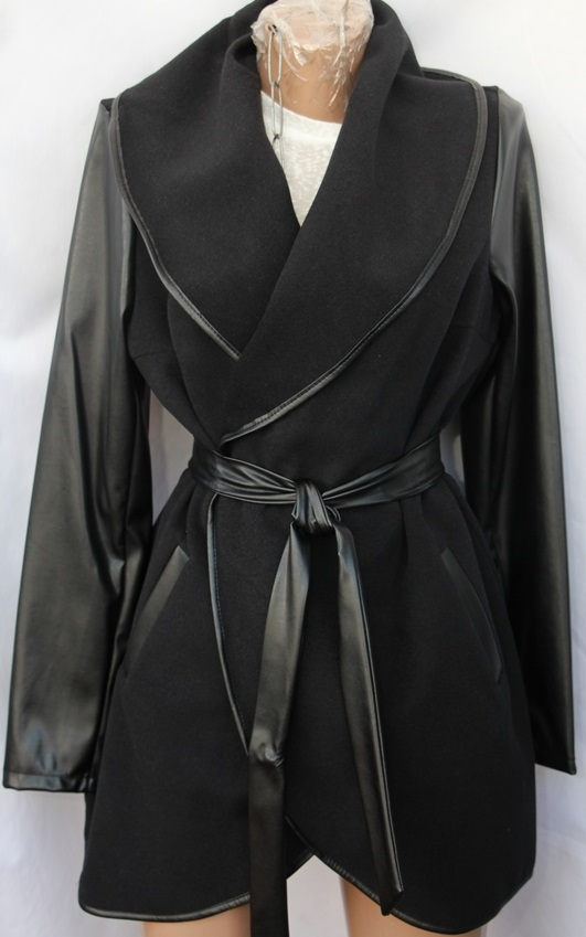 Пальто женское полубатал оптом 80417932 007-1-6