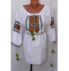 Вышитое платье женское оптом 1307782 015
