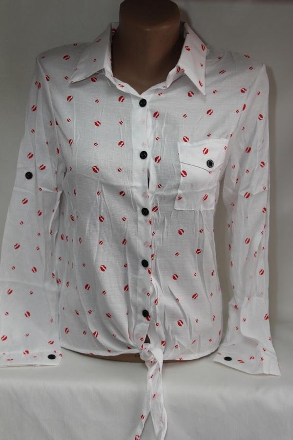 Рубашки женские оптом 19071053 01-8