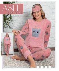 Ночные пижамы женские ASEL оптом 28937065 2793-9