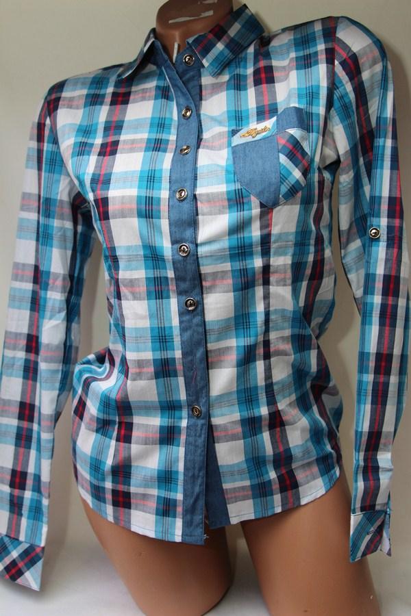 Рубашки женские оптом 1903807 50-8