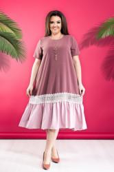 Платья женские БАТАЛ оптом 05412396  01-1