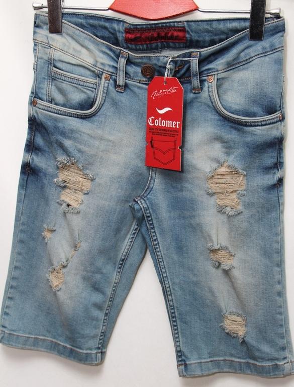 Шорты джинсовые мужские COLOMER оптом 08061340 3012