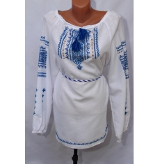 Платье вышитое женское оптом Ручная работа 1307782 010