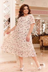 Платья женские БАТАЛ оптом 94127035 05-10