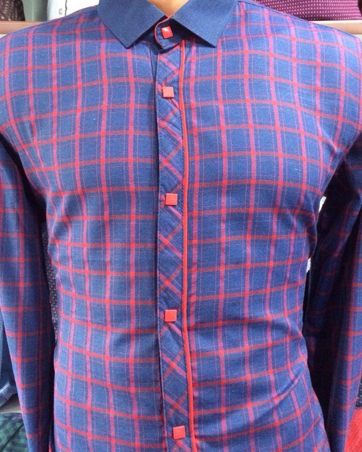Рубашки мужские оптом 48735610 0063-2