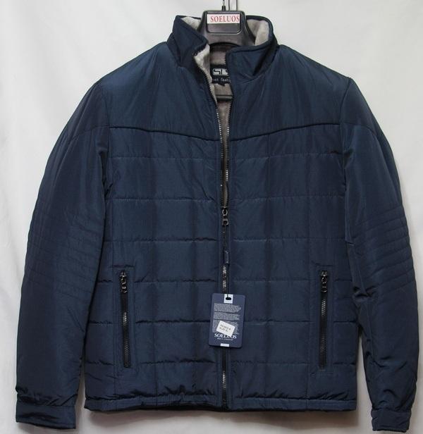 Куртка SOELUOS зимняя мужская оптом 50794168 HQ 8032-B