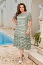 Платья женские БАТАЛ оптом 96782013  04-8