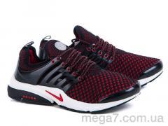 Кроссовки, Class Shoes оптом PR-2 черно-красный