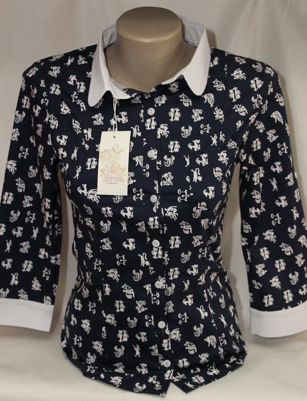 Рубашки женские оптом 05083030 76-2