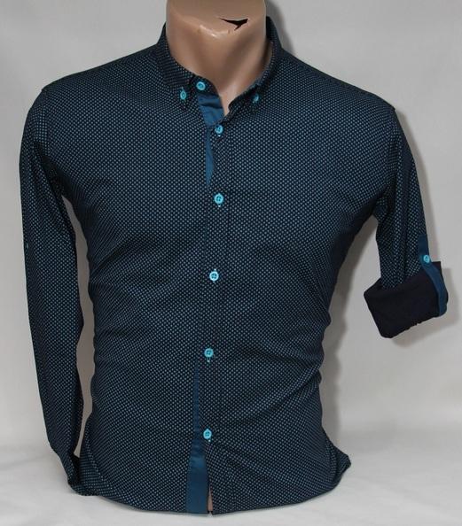 Рубашки подростковые Турция оптом  26084721 003-21