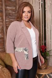 Пиджаки женские БАТАЛ оптом 61730925 10 -26