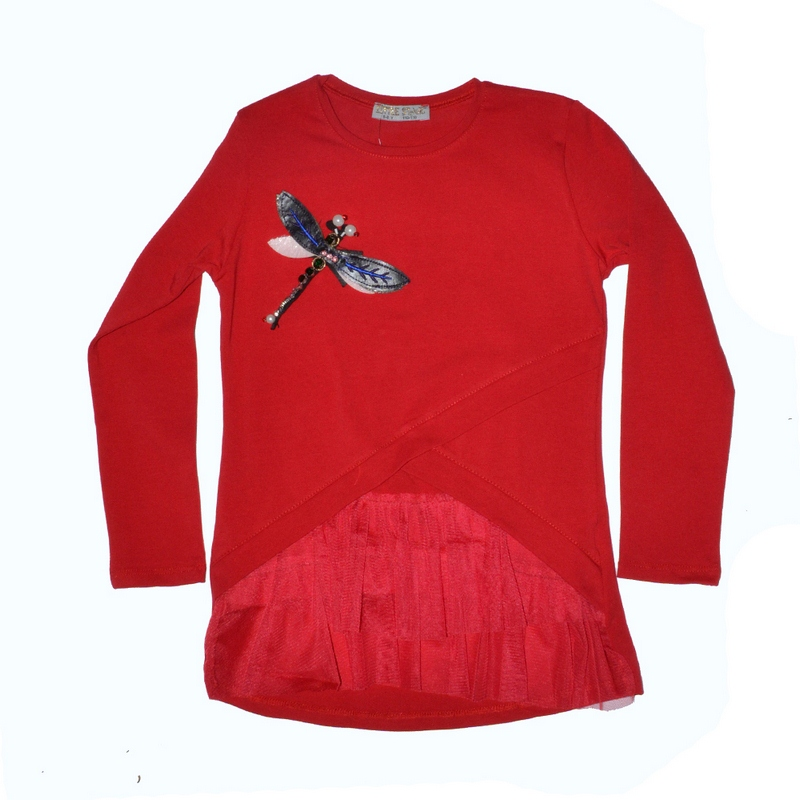 Блузы детские для девочек Little star Турция оптом 73826491 498-8