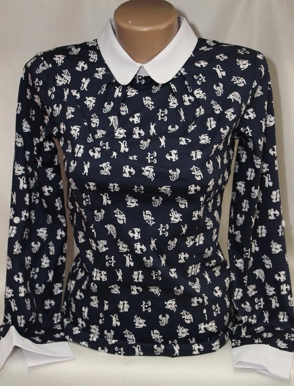 Рубашки женские оптом 05083030 76-111