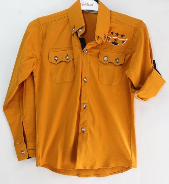 Рубашки подростковые  оптом 46780521 861-120