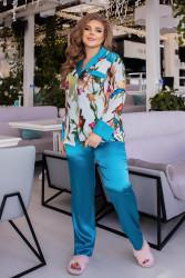 Пижамы женские БАТАЛ оптом 14023798  03-4
