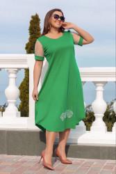 Платья женские БАТАЛ оптом 67521384 01-1