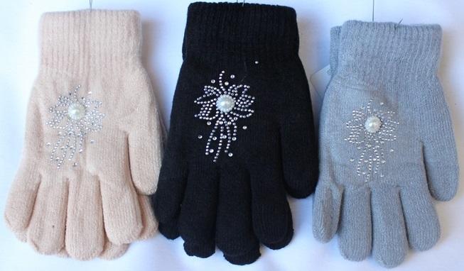 Перчатки подростковые оптом 85620314 С7135-1