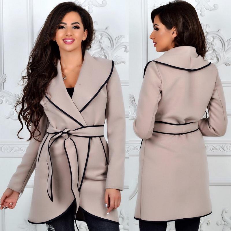 Пальто женские оптом  14105540 341-1-4