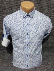 Рубашки мужские PLENTI БАТАЛ оптом 98053467    05-45