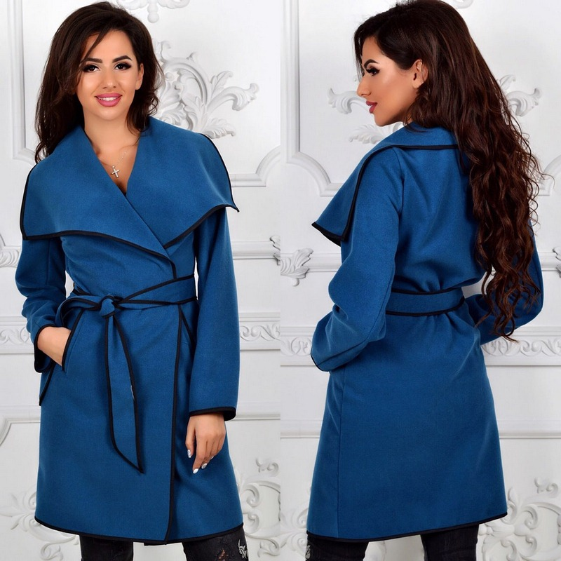 Пальто женские оптом  14105540 341-1-10