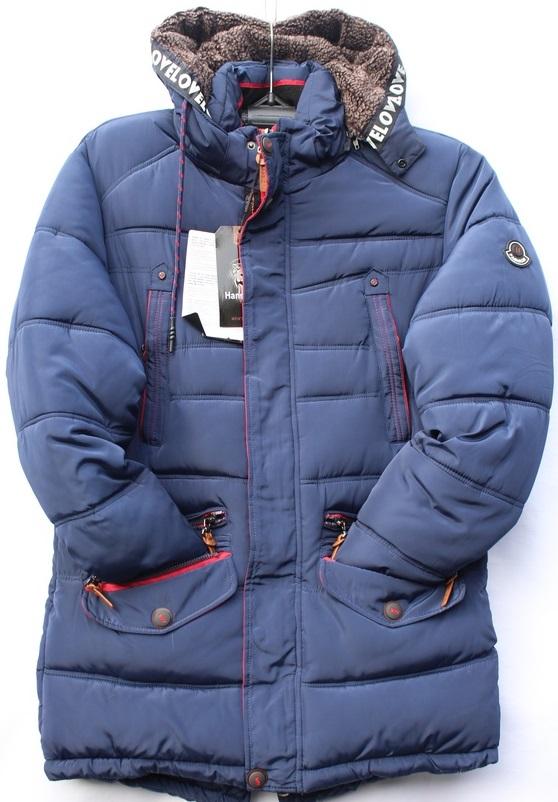 Куртки мужские зимние Hans Klok оптом 18307645 F6719-143