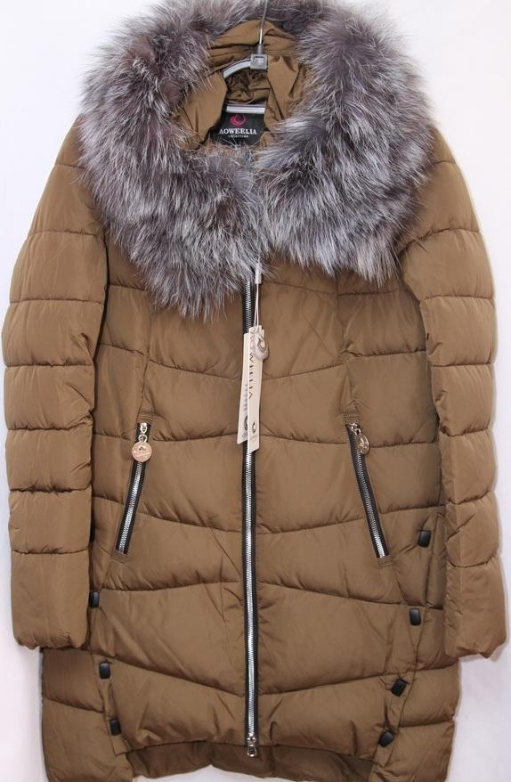 Куртки женские AOWEELIA оптом 19091209 8033-8