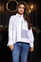 Рубашки женские оптом 20165784 01-16