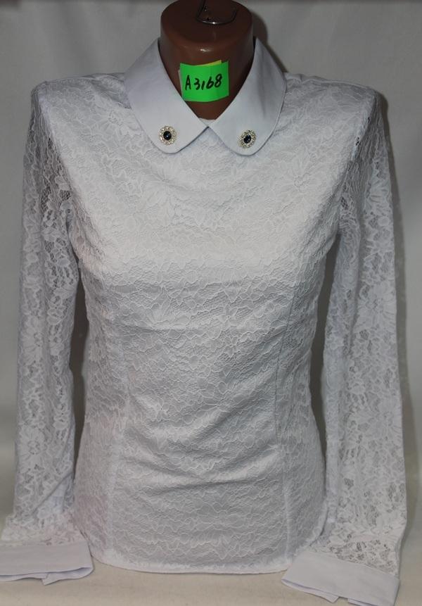 Блузы школьные оптом 40763182 3168-1