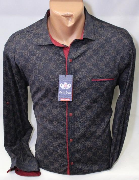 Рубашки PAUL STAR мужскиеТурция оптом 15936047