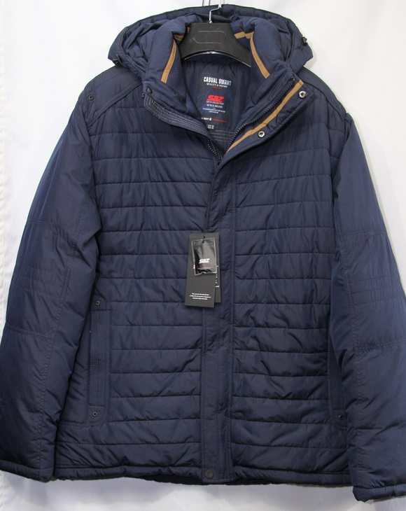 Куртки SAZ мужские зимние БАТАЛ оптом 92650314 JF8626-1