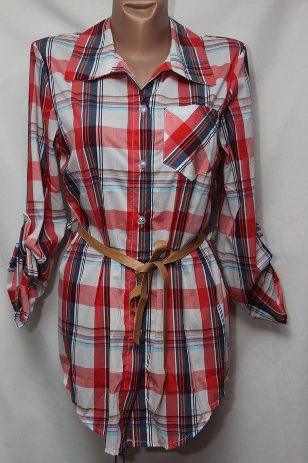 Рубашка женская оптом 18021410 252